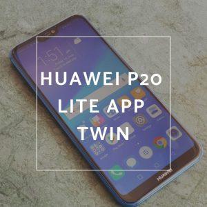 Cómo usar 2 cuentas de la misma aplicación en Huawei P20 Lite