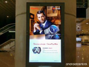 Huawei Watch visto antes de ser oficial en el MWC