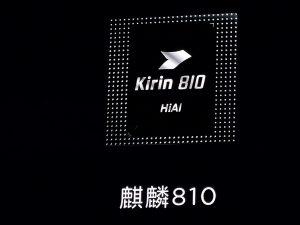 Huawei anuncia el chipset HiSilicon Kirin 810 destinado a los teléfonos inteligentes de gama media superior
