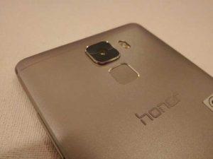 Honor 7 con un solo cuerpo metálico y escáner de huellas dactilares que se lanzará pronto en India