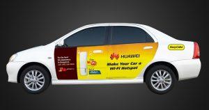 Huawei y Tata Docomo anuncian Wi-Fi gratis en EasyCabs en Bangalore
