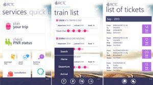 IRCTC lanza la aplicación de reserva de trenes para dispositivos Windows