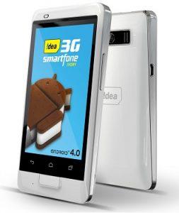 Idea Ivory: teléfono inteligente 3G de doble SIM con Android 4.0 de 3.5 pulgadas lanzado por Rs.7390