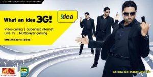Idea amplía sus servicios 3G en Himachal Pradesh, cubriendo Dharamshala, Mandi, Sunder Nagar y Mcleodganj