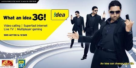 Idea amplía su red y se convierte en el mayor proveedor de 3G en UP West y Uttarakhand