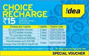 Idea anuncia la recarga 'Choice to Choose' para el círculo de Tamil Nadu