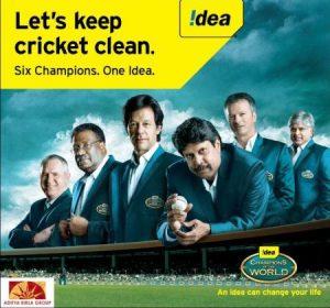 Idea une a 6 campeones de la Copa del Mundo para mantener limpio el críquet