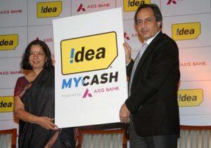 Idea y Axis Bank brindan soluciones financieras a través de teléfonos móviles