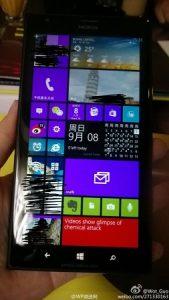 Imágenes claras de la superficie del Nokia Lumia 1520 de 6 pulgadas