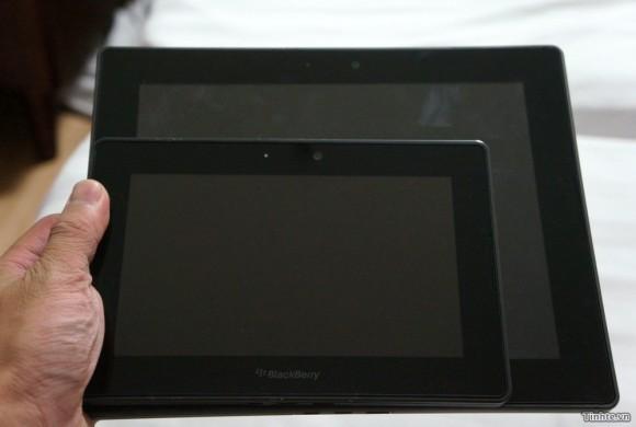 Imágenes de fuga de BlackBerry PlayBook de 10 pulgadas