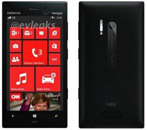 Imágenes de fuga de Nokia Lumia 928