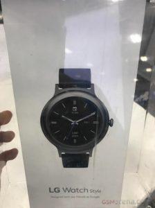 Imágenes de la caja minorista LG Watch Style filtradas antes del lanzamiento esperado