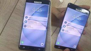 Imágenes de la variante Black Onyx del Samsung Galaxy Note7 filtradas en línea