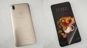 Imágenes en vivo de Vivo V9 filtradas en línea para lucir una muesca similar a la del iPhone X y cámaras duales en la parte posterior