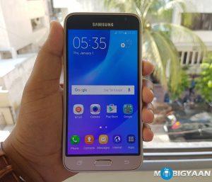 Imágenes prácticas del Samsung Galaxy J3 (2016)