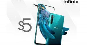Infinix S5 con Helio P22 SoC, 4 GB de RAM y cámara cuádruple AI de 16 MP lanzada en India