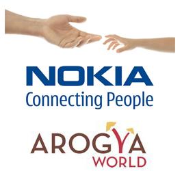 Iniciativa de salud para la prevención de la diabetes tomada por Nokia en asociación con Arogya World