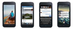 Inicio de Facebook para Android explorado