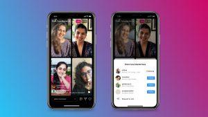 Instagram anuncia Live Rooms que permite que cuatro personas se activen a la vez