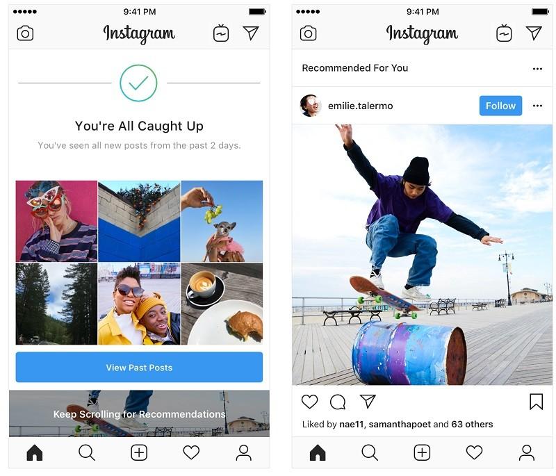 Instagram-tests-publicaciones-recomendadas-feed