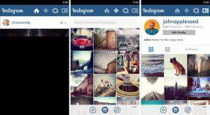 Instagram finalmente llega a Windows Phone;  Sin soporte de video