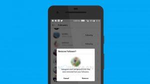 Instagram pronto podría permitirle eliminar a sus seguidores de su cuenta pública