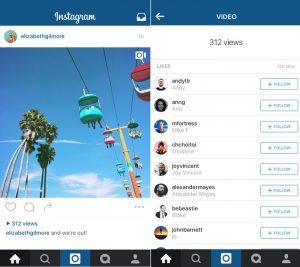 Instagram pronto te mostrará la cantidad de veces que se ha visto un video