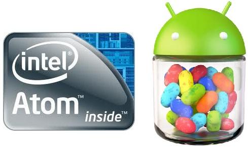 Intel trabaja para llevar Android 4.1 Jelly Bean en dispositivos que ejecutan Atom