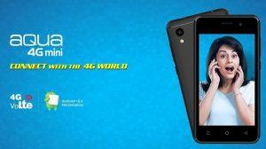 Intex Aqua 4G Mini listado en línea con Android 6.0 Marshmallow y soporte 4G VoLTE por $ 4199