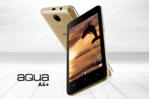 Intex Aqua A4 + con pantalla de 4.5 pulgadas, Android 7.0 Nougat y soporte 4G VoLTE lanzado en India