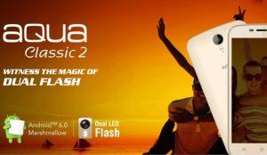 Intex Aqua Classic 2 con pantalla de 5 pulgadas y soporte 3G lanzado para Rs.  4790
