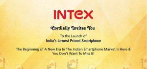 Intex lanzará el teléfono inteligente Firefox OS el 25 de agosto;  A un precio inferior a Rs.  2000
