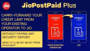 Jio ahora permite a los usuarios transferir el límite de crédito para los planes Postpaid Plus
