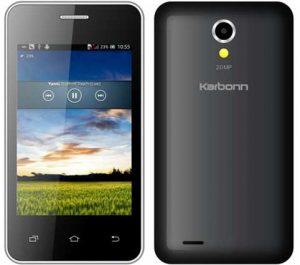 Karbonn A50s con procesador MediaTek de doble núcleo lanzado para Rs.  2790