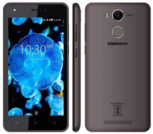Karbonn K9 Kavach 4G con escáner de huellas dactilares y la integración de la aplicación BHIM lanzada en India por ₹ 5290