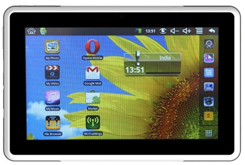 Karbonn Smart Tab 2 disponible para Rs.  6,990 con Android 4.0