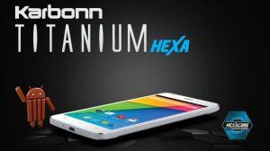 Karbonn Titanium Hexa saldrá a la venta el 20 de mayo exclusivamente en Amazon.in