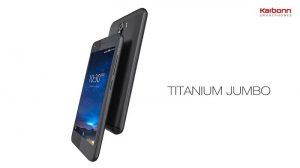 Karbonn Titanium Jumbo con pantalla de 5 pulgadas, cámara de 13 MP y batería de 4000 mAh lanzado en India
