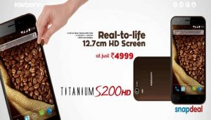 Karbonn Titanium S200 con pantalla HD de 5 pulgadas lanzado para Rs.  4999