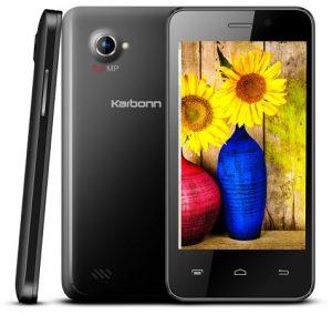 Karbonn Titanium S99 con procesador de cuatro núcleos y Android KitKat lanzado para Rs.  5990
