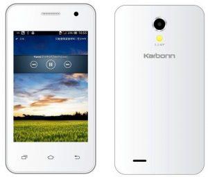 Karbonn lanza el teléfono Android Smart A51 para Rs.  3,499