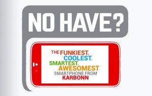 Karbonn lanzará un nuevo teléfono inteligente el 15 de septiembre