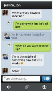 Kik Messenger hace su debut en Symbian