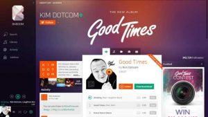 Kim Dotcom ofrece un adelanto de su nuevo servicio de transmisión de música - Baboom