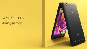 Kult Ambition con pantalla de 5 pulgadas, cámara de 13 MP y Android 7.0 Nougat lanzado en India
