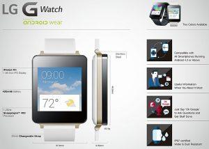 LG G Watch sale a la venta hoy;  El reloj inteligente Moto 360 estará disponible más tarde