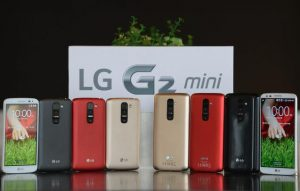 LG G2 mini se lanzará a nivel mundial en abril