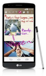 LG G3 Stylus que figura en el sitio web oficial de LG en India por Rs.  21500