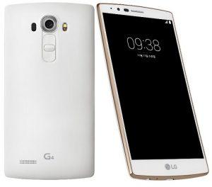 LG G4 White Gold Edition con panel posterior mate lanzado en Corea