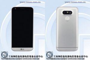 LG G5 Lite con configuración de cámara dual y escáner de huellas dactilares detectado en China